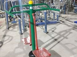 Mini Sky Stepper Green Outdoor Gym Equipment