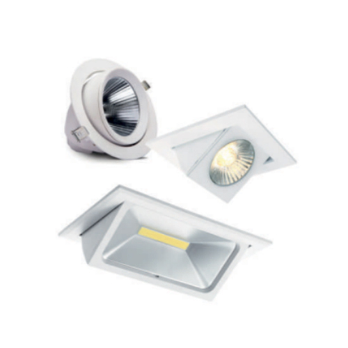 LED Zoom Scoop Light
