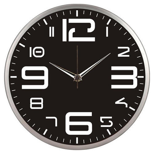 Round Steel Wall Clock