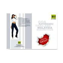 Single Fold Brochure Cover Printing Service