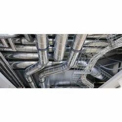 Galvanized Steel HVAC Duct, for Office,Industrial