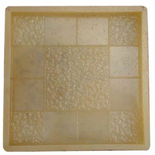 PVC Rubber Chequered Tiles Mould, Packaging Type: Corrugated Box