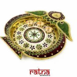 Hand Crafted Pooja Thali