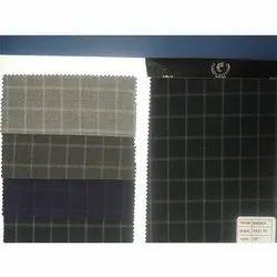 Designer Checks T R Suiting Fabric