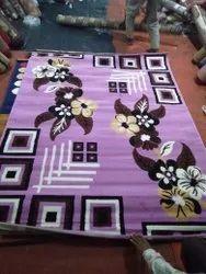 Ishba Handloom Polypropylene Synthetic Floor Carpet, Size: 3*7 Feet