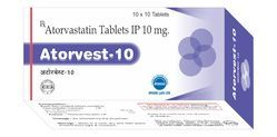 Atorvastatin Tablets IP 10mg
