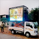 Mobile Truck P6 Programmable LED Commercial Advertising Display Screen Board