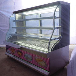 M Glass Sweet Display Counter