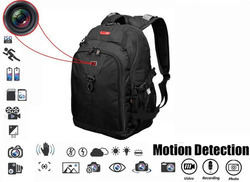 Spy Sport Bag With A Hidden Camera