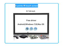 Multitouch IR Touch Screen Panel