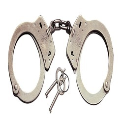 Stainless Steel Police Handcuff