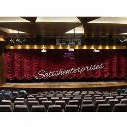 Vertical Austrian Curtains
