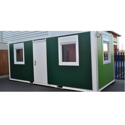 Easily Assembled Steel Prefabricated Control Panel Cabin