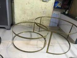 Brass Center Table