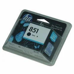 HP Black Ink Printer Cartridge, Model Name/Number: 851
