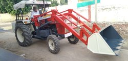 Mild Steel, Stainless Steel Tractor Loader, Loader Bucket Capacity: 1.0 cum