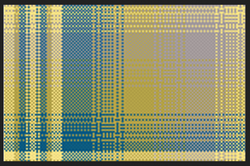 Blue And Yellow Fabric