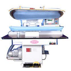 AURA Blue And White Utility Vacuum Ironing Table