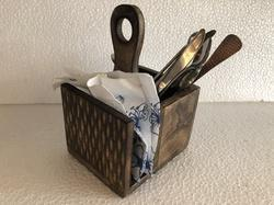 Cutlery & Napkin Holder