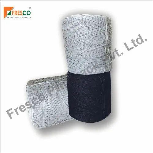 White & Black Paper Rope.