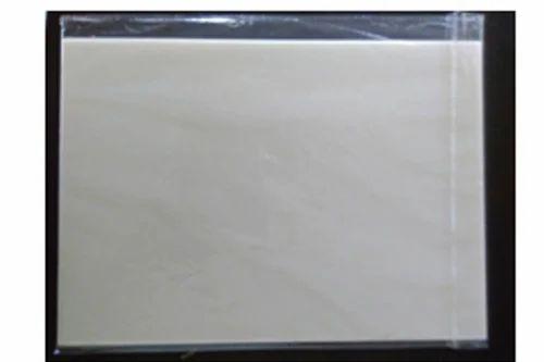 Blank Chocolate Transfer Sheet