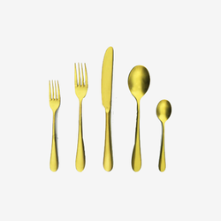 Cutlery Gold Plated PVD Coating Services
