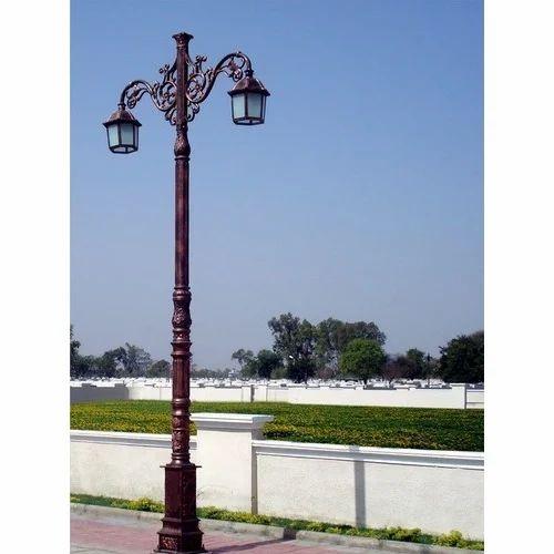Outdoor Post Lights India: Decorative Outdoor Lighting Pole, Decorative Pole