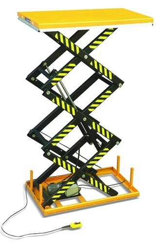 Material Handling Equipment - Hydraulic Stacker Manufacturer from