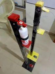 Manual Sanitizer Dispenser  (Foot Pedal)