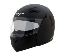 Vega Boolean Matt Black Helmet (M/580MM)