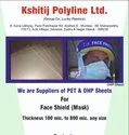 PET / OHP Sheet For Face Shield Mask