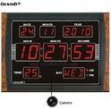 Spy 3G 4G Hidden Secret Camera for Digital Wall Clock