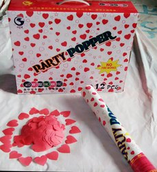 40 cm Heart Suitcase Box Party Popper