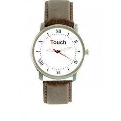 Brown Strap Mens Wrist Watch