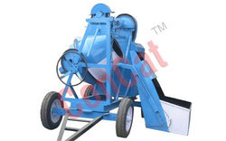 10.7 Cft Concrete Mixer Mechanical Hopper