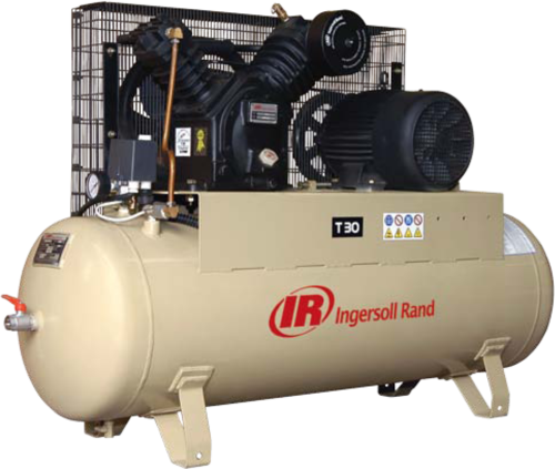 10 Hp And 15 Hp Ingersoll Rand Air Cooled Reciprocating