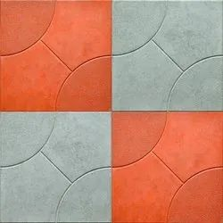 Matt Square Cement Parking Floor Tile, Packaging Type: Box, Thickness: 5-10 mm
