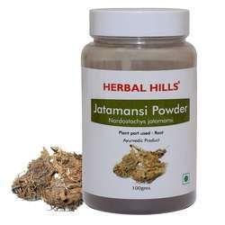 Natural and Pure Jatamansi (Nardostachys Spikenard) Powder - 100 gms
