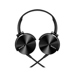 Sony MDR-XB450AP On-Ear Extra Bass Headphones with Mic - Black / Blue / Red