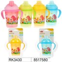 Plastic Baby Water Sipper & Feeding Bottle