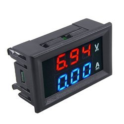 Digital Voltmeter Monitor Panel