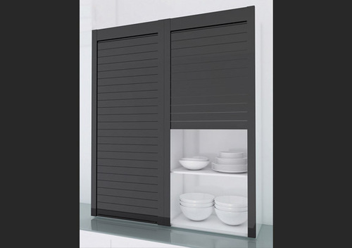 kitchen roller cabinet glass kitchen roller shutter at rs 39672 unit raja 21986