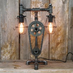 Industrial Desk Lamp Steampunk Table Lamp
