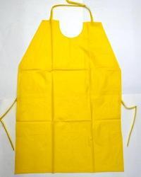 PVC Yellow Safety Apron Size 24''36
