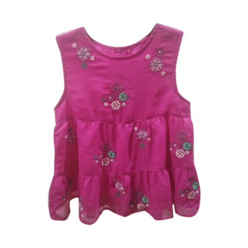 54f9ad182 Hand Wash Casual Wear Kids Printed Cotton Frock