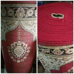 Polypropylene Bcf Muslim Mosque Prayer Carpet, Size: 4*100