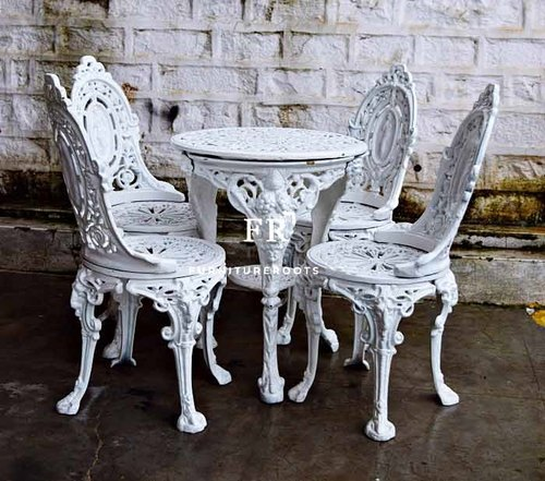 Wrought Iron Patio Dining Sets For Restaurants At Rs 25160 Set