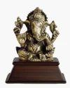 Golden Ganesh Statute