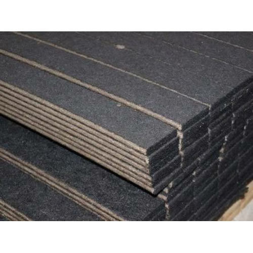 Black Expansion Joint Bitumen Mastic Pad Size 1 2 3 4