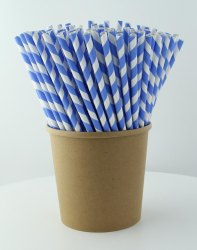 6, 7, 8 mm Compostable Paper Straw